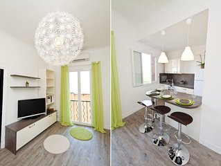 'Le 55 bis' One bedroom apartment just a step from the beach