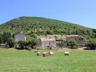 Maison authentique en Drome  provencale