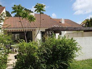 Pornic maison mitoyenne 54m2 residence tres calme arboree avec grande piscine