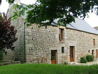 Character 18th Century Stone property on 4 acres near Dinan, Breton Beaches