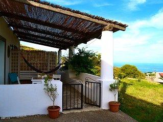 La Bartola casa panoramica a Villa Paradiso. Lipari
