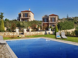 Traditional Villa Xefoto: An amazing, independent stone villa