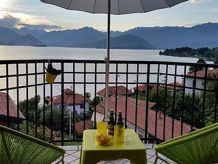 Casa Sofia, Reno di Leggiuno, Nuovo Appartamento con splendida vista sul Lago