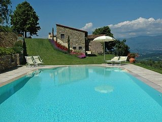 Private Villa with pool-Chianti Siena Florence -up to 8 pax