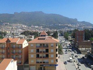 Bejaia:location vacances F3  Bejaia WIFIgratuit PROMO ETE 2sem. 500 Euros HT