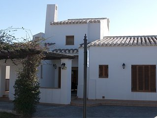 A Moroccan Oasis In Spain! Stunning 3 Bedroom Villa Which Sleeps 6 (3 Bedrooms)