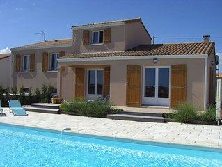 Vendee Villa with Heated Pool