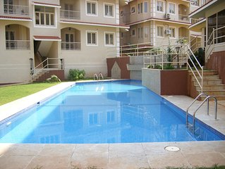 Awesome 2 bed apartment North Goa - Available December 2014