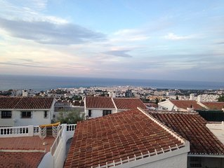 Newly renovated studio apartment with fantastic views over Nerja