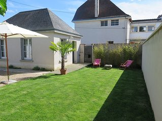 House studio with garden near downtown Blois