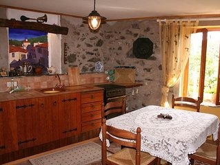 Picturesque gite with terraces in idyllic mountain village with views