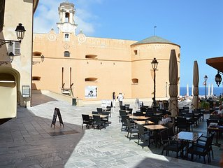 F2 historic center of the citadel of Bastia