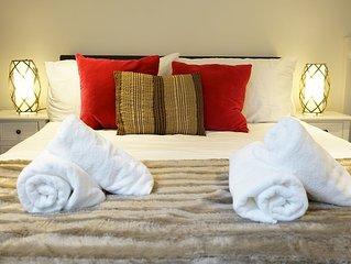 Superb refurbished split-level apartment