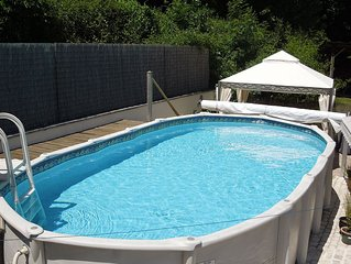 The Rose Barn - Charente Holiday Cottage sleeps 2 with Pool.