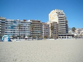 Fuengirola, Los Boliches  Beach Front Apartment