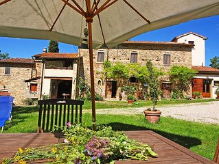 La Casina near the medieval village of Anghiari