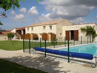Appartements (Gîtes piscine) près de La Rochelle
