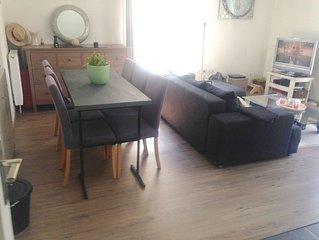 Appartement neuf 50m2 pour 4 personnes a 15 min de Lille avec belle TERRASSE