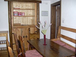 mountain-style apartment with separate entrance. Wi fi and pul. end including.