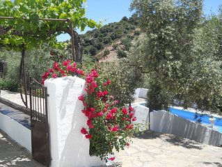 Farmhouse in Rural Andalucia, private pool & peaceful location