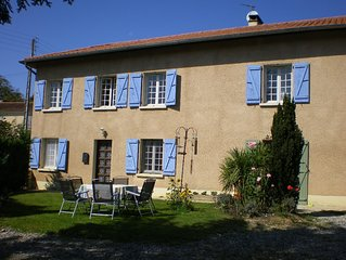 Spacious 4 bed farmhouse in the Haute Pyrenees