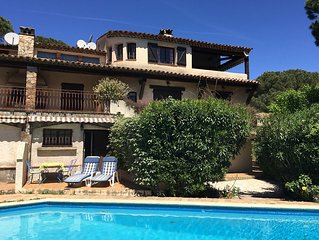 Ste Maxime apartment in villa with terrace and po