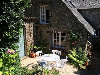 Exquisite 18th Century Millers Cottage, nr Mont St Michel