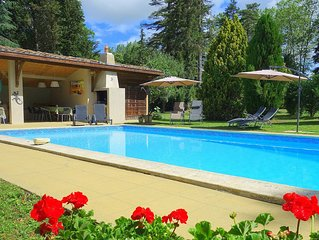 Large Country House & Heated Pool. 3km Mirepoix. Nr Carcassonne. 9 bedrooms