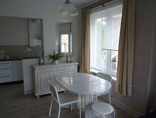 Superbe appartement 2 chambres à 100 mètres de la plage de La Panne