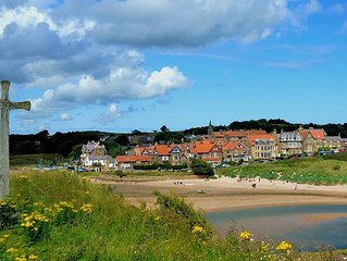 ROSEMOUNT COTTAGE CENTRAL ALNMOUTH NORTHUMBERLAND CLOSE TO BEACH