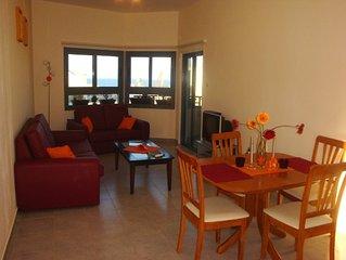 Lovely holiday apartment Kapparis. Sea view. Near beach, restaurants & shops.