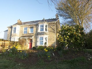 Idyllic Cornish village home. Ideally situated between Truro and Falmouth