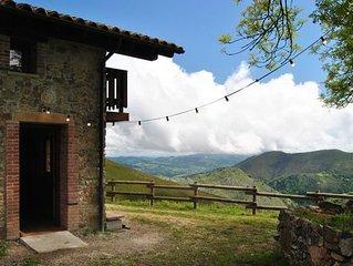 Cabana Panoramica en plena montana.