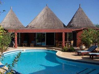 La Somone: Superbe villa avec piscine dans ecrin de verdure