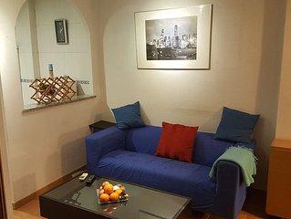 Apartamento de 1 dormitorio totalmente equipado