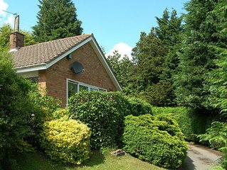 A Comfortable, Spacious Self-Catering Bungalow Near Ledbury, Herefordshire