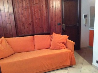 Cosy apartment near the town centre and a 5 min walk to the pistes.