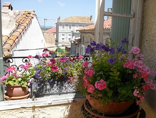 Charming village house with terrace close to Canal du Midi and beaches