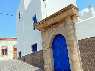 Irene's house in the centre of the picturesque village of Lachania south of Rhod