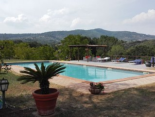 Country house with swimming pool in Panicale -Lake Trasimeno