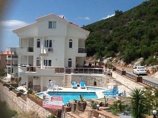 Levy Villa 2 - Luxery Turkish villa  - Air Conditioned Villa with Pool