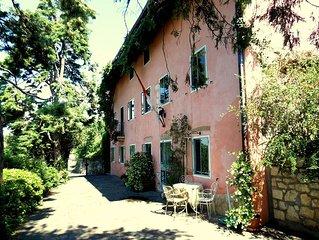 Accogliente suite indipendente in villa  di charme con giardino panoramico