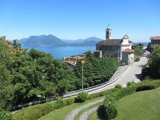 Villa on Lake Maggiore with garden