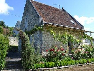 Charmante maisonnette au coeur du Val de Loire