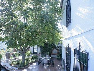 Casa con jardín 'El Nogal'