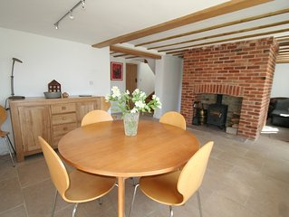 18th century cottage in historic Orford, close to Aldeburgh & Snape