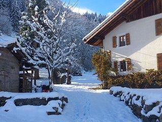 La Grange De Pimberty Luxury Apartment,  mountain getaway close to Geneva