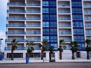 Beach front, 2 bed, 2 bath, adult & children's swimming pools