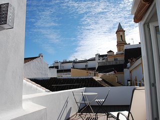 Lovely town house in pittoresque old center of Estepona