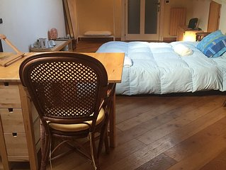 Private room apartment in a central location and